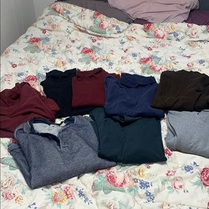 Lot of 8 mens thermals